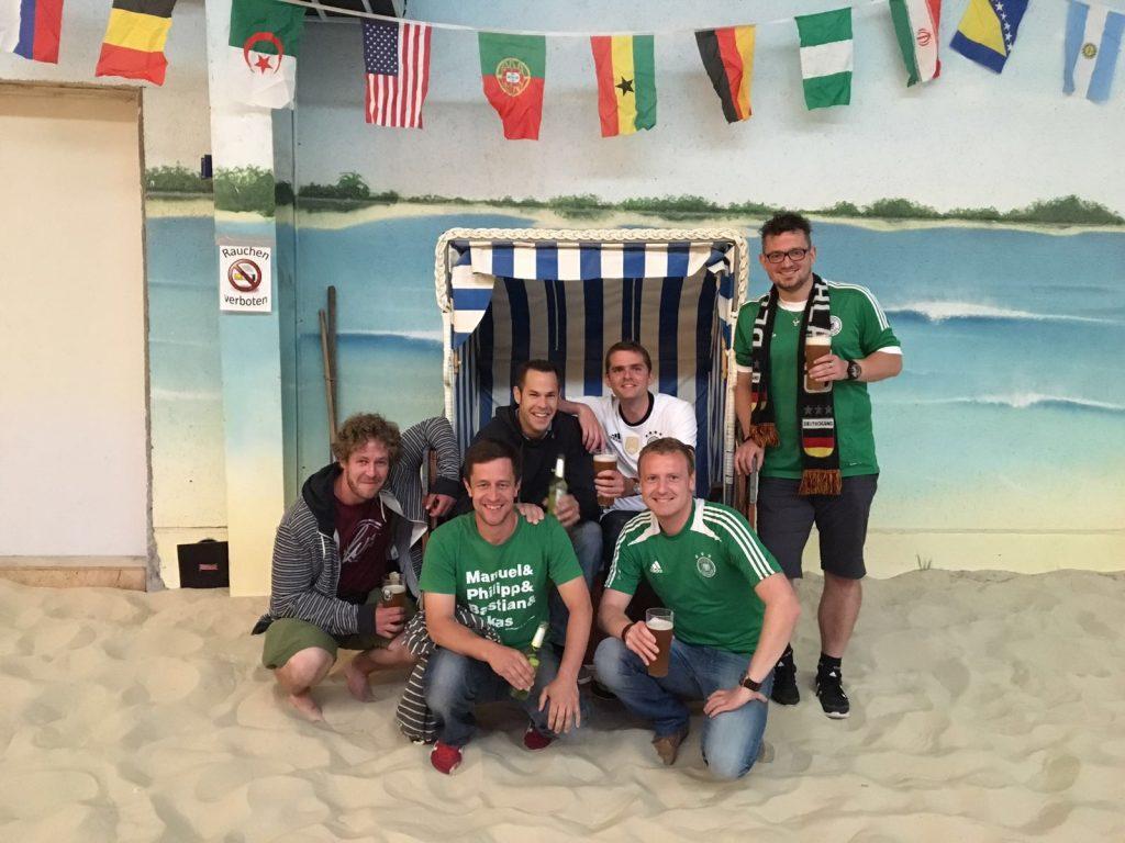 von links: Benedikt Hohagen, Christian Scholz, Niklas Fischer, Henner Kotar, Martin Bytom, Dennis Steffen. Es fehlen: Christian Klein, André Heyermann